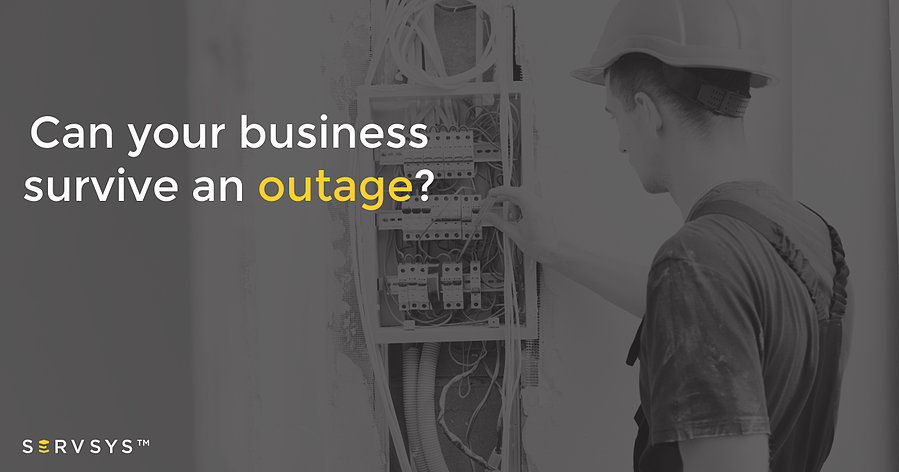 Can your business survive an outage?